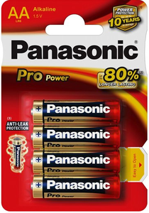 AA paristo Pro Power LR6 Panasonic