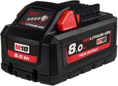 Akku M18 HB8 8,0Ah High Output Lithium-ion Milwaukee