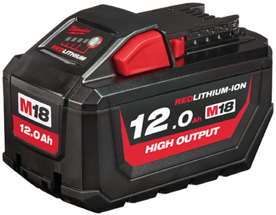 Akku M18 HB12 12,0Ah High Output Lithium-ion Milwaukee