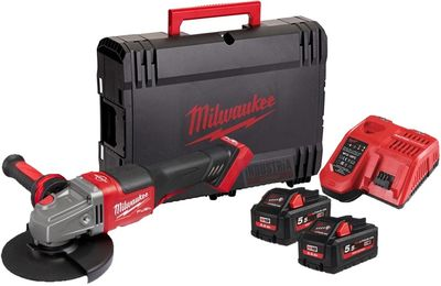Akkukulmahiomakone M18 FHSAG125XPDB-552X FUEL™ HIGH OUTPUT™ Milwaukee