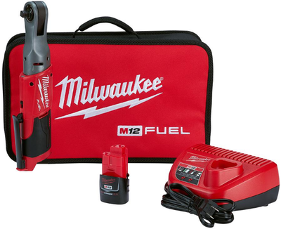 "Akkuräikkäväännin 3/8"" M12 FIR38-201B FUEL™ Milwaukee"