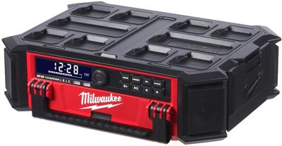 Lataava bluetooth työmaaradio M18 PRCDAB+-0 Milwaukee Packout™