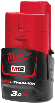 Akku M12 B3 3,0Ah Milwaukee