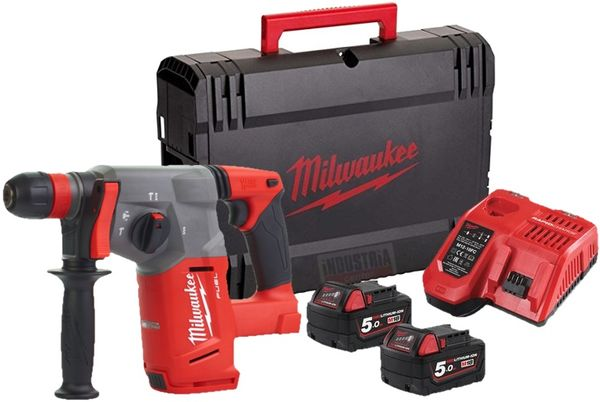 Akkuporavasara SDS-Plus M18 CHX-502X FUEL™ Milwaukee